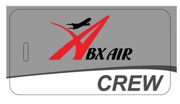 ABX Air logo CREW tags