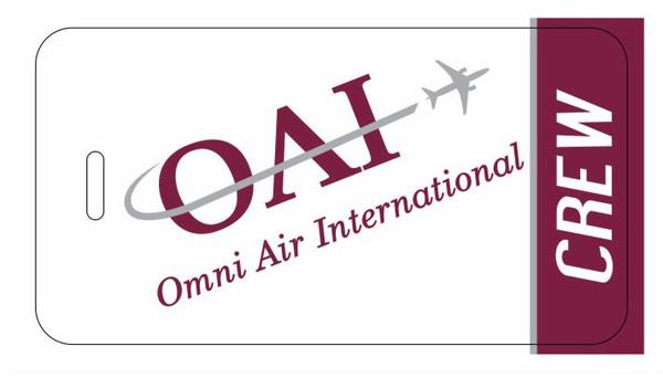 OMNI Air Intn'l (OAI) CREW (White logo)