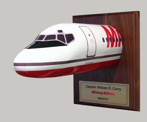 """Midway DC-9 """"Curry Special"""" Nose"""