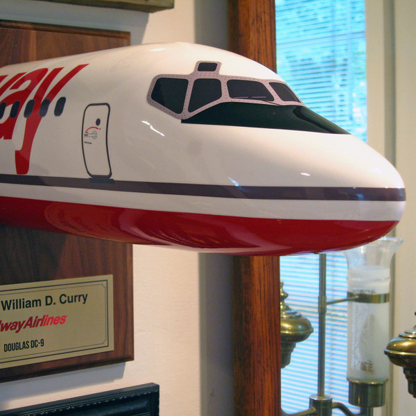 "Midway DC-9 ""Curry Special"" Nose"