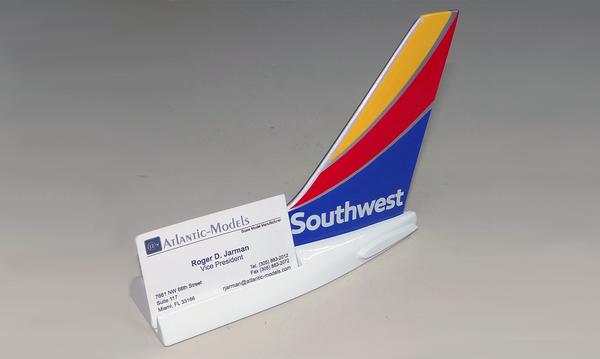 Southwest B737 Tail Card Holder