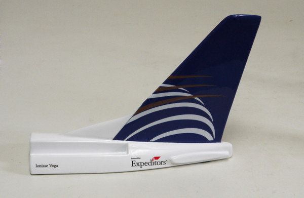 Copa 737NG Tail Card Holder