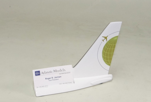 Miami Air 737 Tail Card Holder