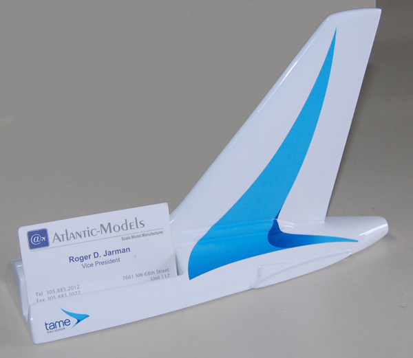 TAME A320 Tail Card Holder