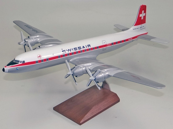 Swissair DC-7-C