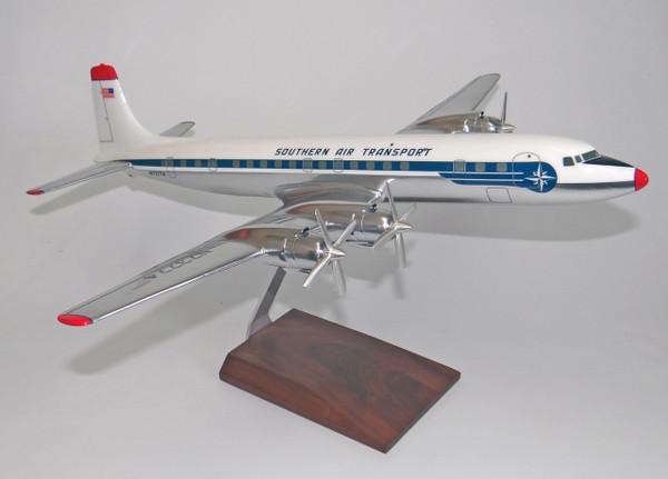 Southern Air SAT DC-7C (Chrome)