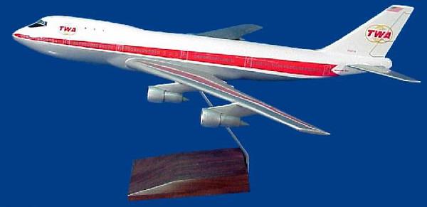 TWA B747-400