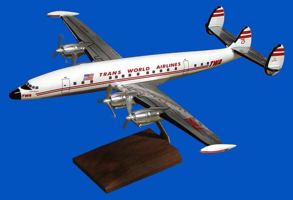 TWA L-1049 (Chrome)