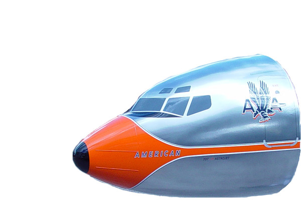 American AirlInes B707 Nose Wall (Chrome)