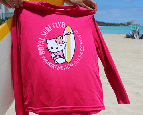 Hello Kitty Surfer Youth Rashguard