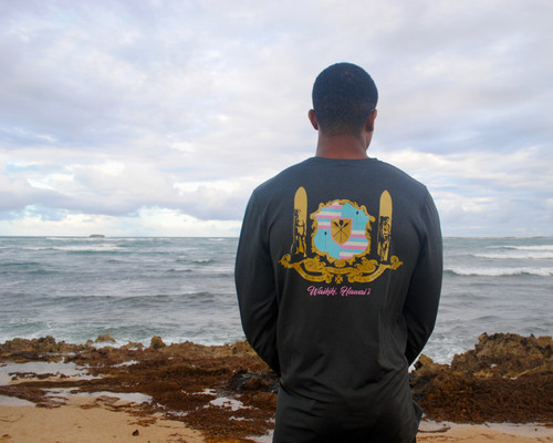 The Teddy B Rashguard • Royal Coat of Arms