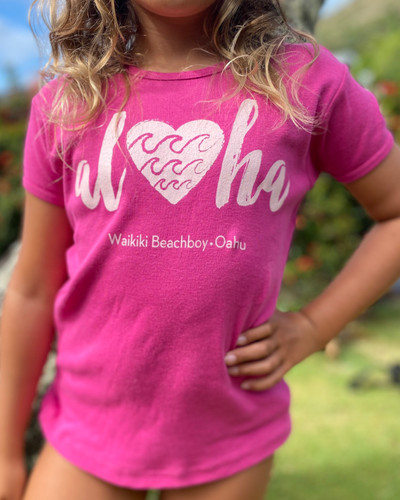 Aloha Heart Youth Tee