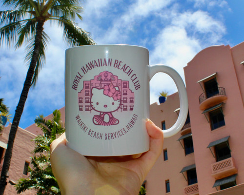Hello Kitty Royal Beach Club Mug