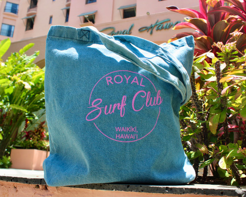 Royal Surf Club Pō'ai Denim Tote