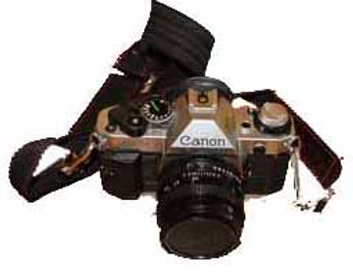 Canon AE-1 35mm SLR Camera and Accessories