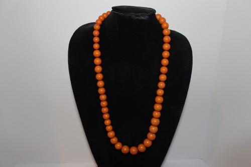 Vintage Butterscotch Bakelite Necklace