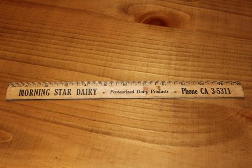 Morning Star Dairy Ruler