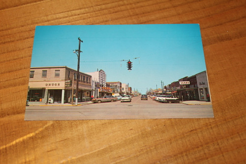 Houston Post Card, 3rd and Ave H Roxenberg TX