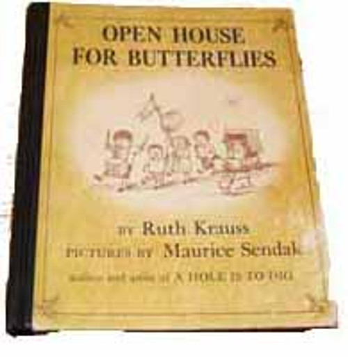 Open House for Butterflies by Ruth Krauss, Pictures by Maurice Sendak