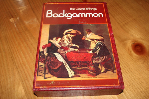 Vintage The Game of Kings: BACKGAMMON from 3M BOARD GAMES series, published in 1973.
