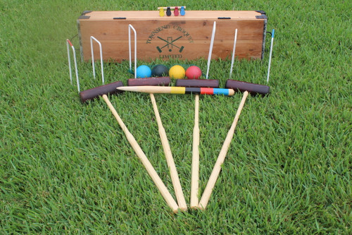 Full Sized Premium Townsend Croquet Limited Croquet Set from UK