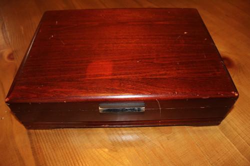 Large Cherry Silverware Storage/Display Box