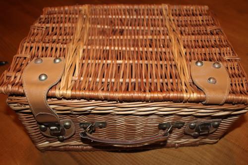 Vintage School Boy Basket