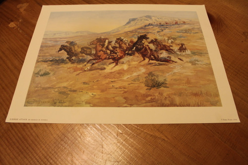Surprise Attack By Charles M. Russell