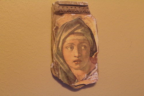 Architectual Wall Hanging - Painting of Young Girl