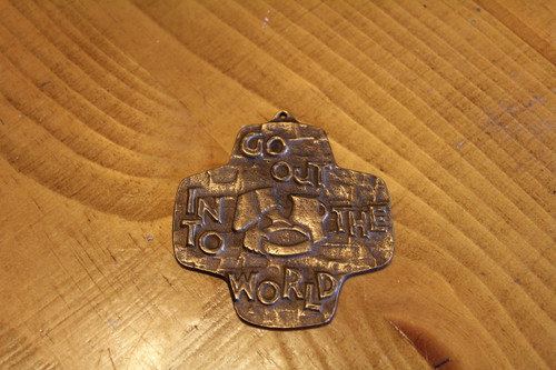 Go Out Into the World German Made Cross