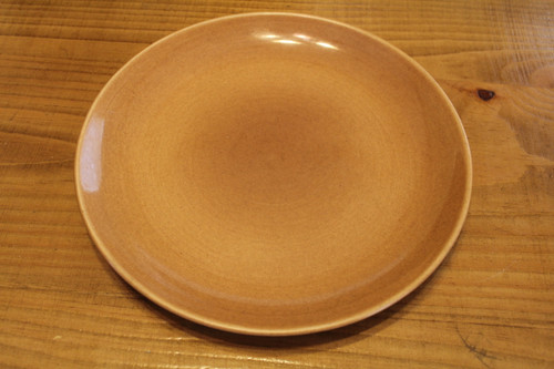 """Vintage Russell Wright Iroquois China 10"""" Brown Plate"""