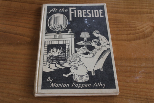 At the Fireside by Marion Poppen Athy