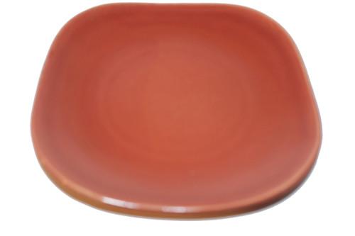 Vintage 1940 - 1950's Red Wing Quartette Dinnerware Concord Shape - 7 1/2 Copper Glow Bread/Dessert Plate (price is per plate)