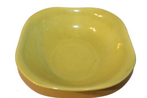 "Vintage 1940 - 1950's Red Wing Quartette Dinnerware Concord Shape - 8 3/4"" Chartrureuse Serving Bowl (price is per bowl)"