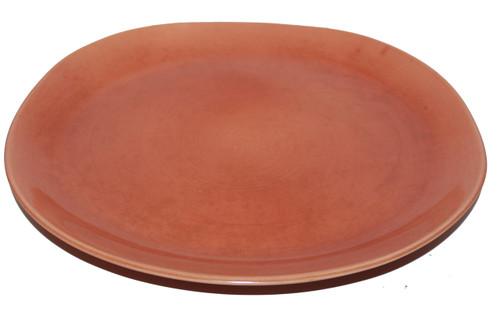 Vintage 1940 - 1950's Red Wing Quartette Dinnerware Concord Shape - Copper Glow Serving Platter (price is per platter)