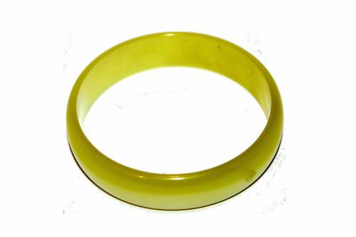 Yellow Lucite Bracelet