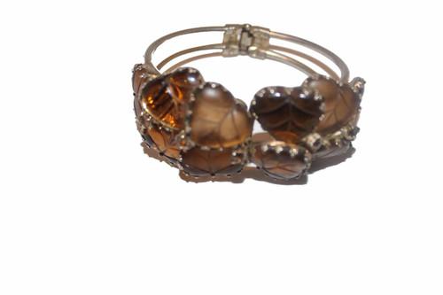 Leaf Cluster Bracelet