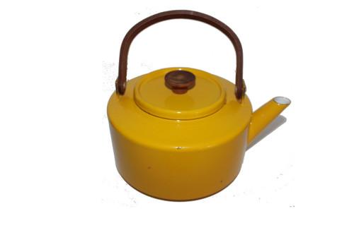 Michael Lax Design Jaune Capco Yellow Enamel Teapot