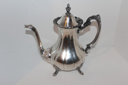 Antique Footed Teapot from The Sheffield Silver Company