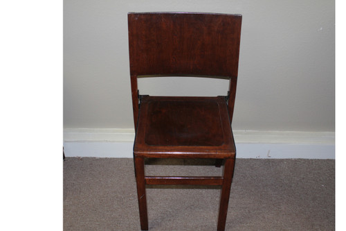 Vintage English Kingfisher West Bromwich Desk Chair