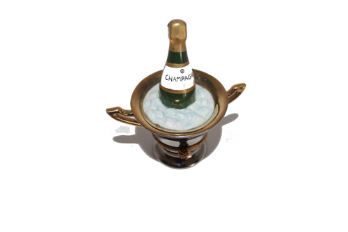 Limoge Champagne Bucket Hinged Box