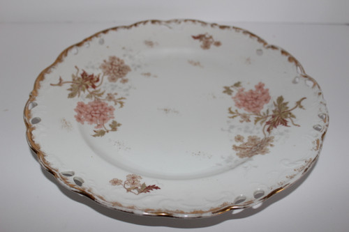 Vintage Austrian LS&S Carlsbad Round Serving Platter