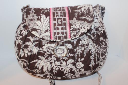 Vera Bradley Shoulder Bag Imperial Toile Pattern (Retired 2010)