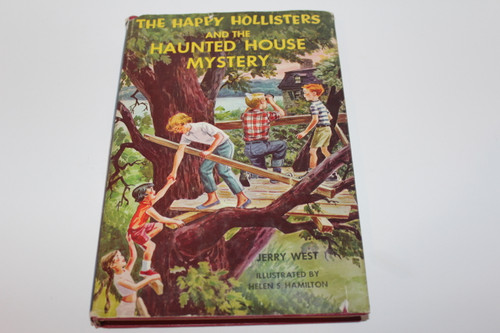The Happy Hollisters and the Haunted House Mystery by Jerry West