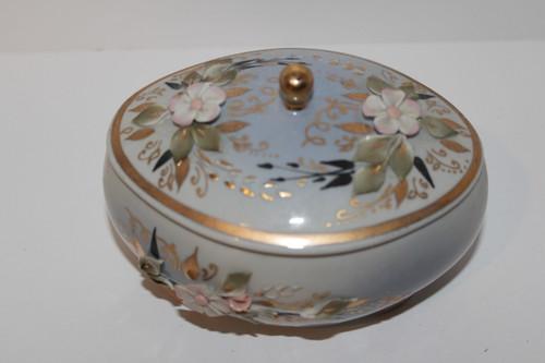 Russian Porcelain Cosmetic Box