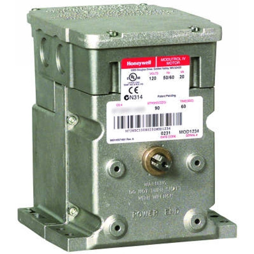 Honeywell M7284A1004 150 lb-in, NSR Actuator, 4-20mA control, 120V