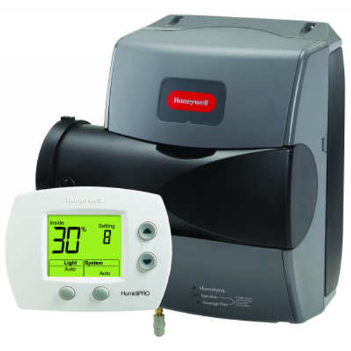 Honeywell HE250A1005 17 GAL TrueEASE Large Advance Bypass Humidifier