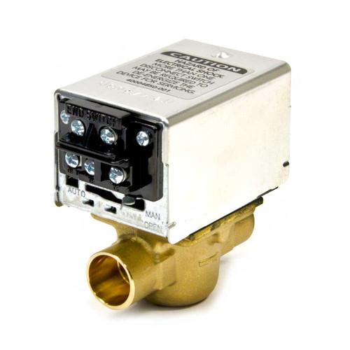 "Honeywell V8043F1036 - 3/4"" Sweat-on Zone Valve, Terminal End"