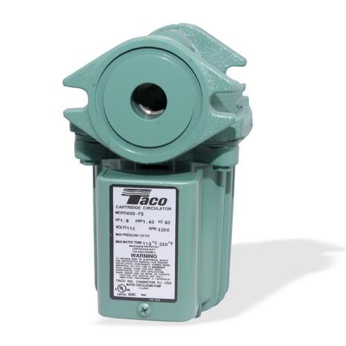 TACO 009 (009-F5) Cast Iron Circulator Pump 1/8 HP