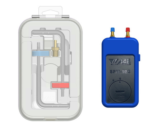 Automatic Airflow Balancing SPM-K1 Bluetooth Dual Port Manometer & Probe Kit